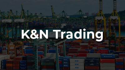 Criação de site profissional: K&N Trading - Importação e Exportação