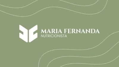 Criação de site profissional: Maria Fernanda - Nutricionista